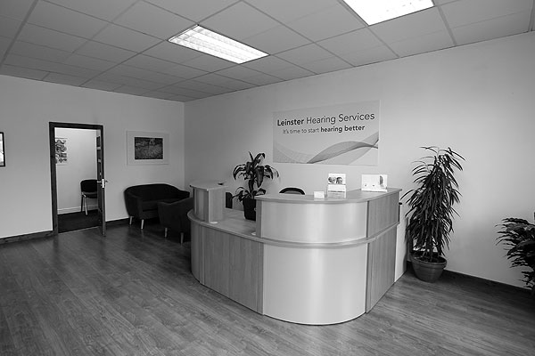 Leinster-Hearing-Services-Clinic-Head-Office-Carlow-B&W_3265-600x400