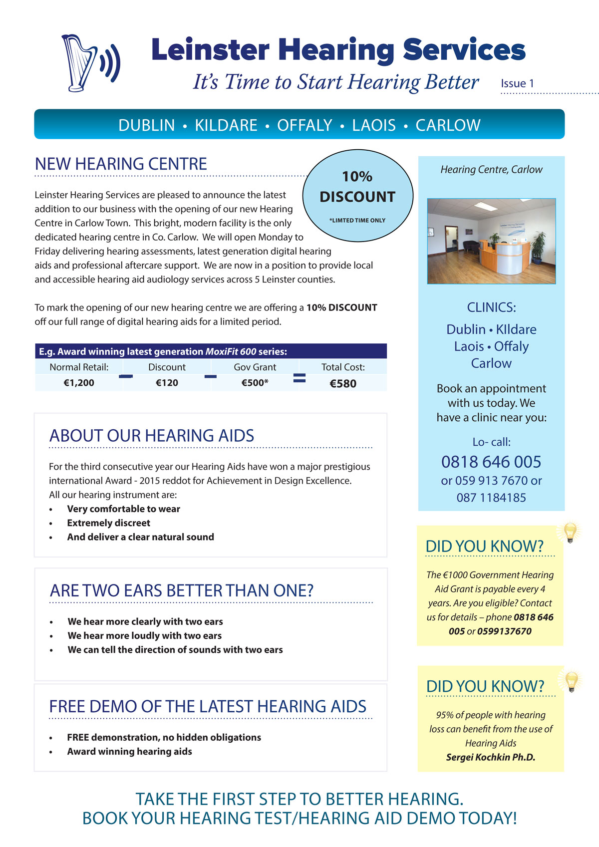 Leinster-Hearing-Services--Newslette-Issue-1-1